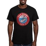 USS OKINAWA Men's Fitted T-Shirt (dark)