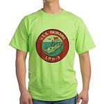 USS OKINAWA Green T-Shirt