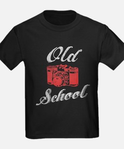 Old School photography T