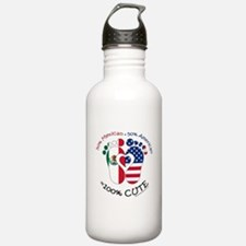 Mexican American Baby Water Bottle