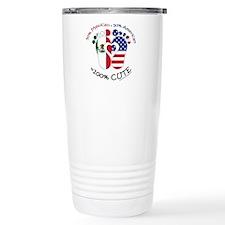 Mexican American Baby Travel Mug