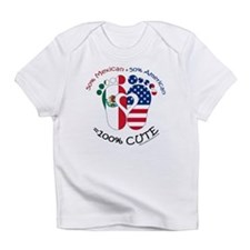 Mexican American Baby Infant T-Shirt