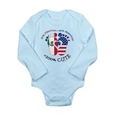 Mexican American Baby Body Suit