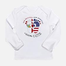 Peruvivan American Baby Long Sleeve T-Shirt