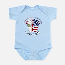 Peruvivan American Baby Body Suit
