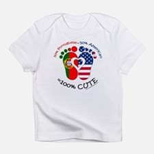 Portuguese American Baby Infant T-Shirt