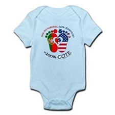 Portuguese American Baby Body Suit