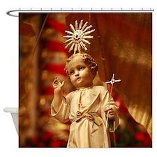 Baby Jesus Shower Curtain