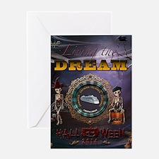 Carnival Dream Halloween Cruise 2014 Greeting Card
