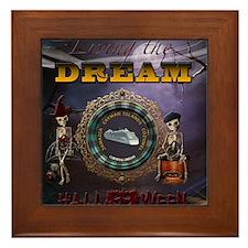 Carnival Dream Halloween Cruise 2014 Framed Tile
