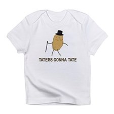 Haters Gonna Hate and Taters Gonna Tate Infant T-S