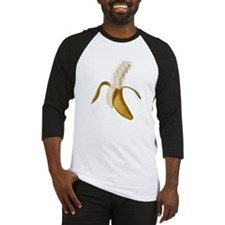 Dirty Censored Peeled Banana Baseball Jersey