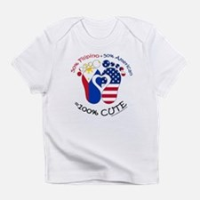 Filipino American Baby Infant T-Shirt