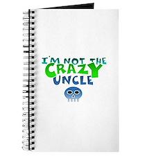 i m not CrazY uncle whiteline Journal