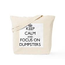 Cute Waste basket Tote Bag
