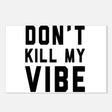Don't Kill My VIBE Postcards (Package of 8)
