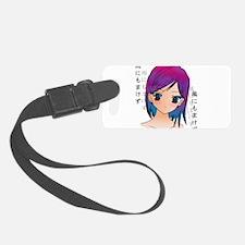 Anime girl Luggage Tag