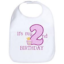 It's My 2nd Birthday Bib