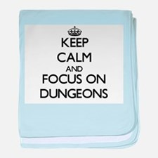 Funny Dungeons dragons baby blanket