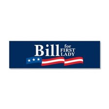 Cute Bill for first lady Car Magnet 10 x 3