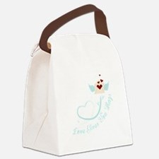 Love Gives You Things Canvas Lunch Bag