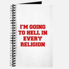 I'm going to hell in every religion Journal