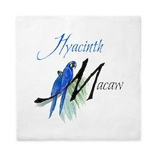 Hyacinth Macaw Queen Duvet