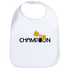 Champion Holding Trophy Bib