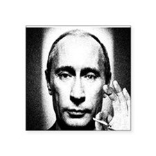 "putins blunt Square Sticker 3"" x 3"""
