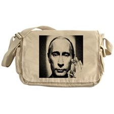 putins blunt Messenger Bag