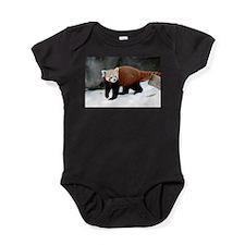 Red Panda Baby Bodysuit