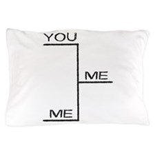 A Winner Is Me Fantasy Sports Bracket Pillow Case