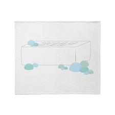 Bar of Soap Throw Blanket