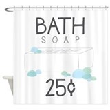 Soap Shower Curtains