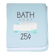Bath Soap baby blanket