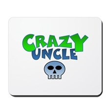 CrazY uncle skull Mousepad