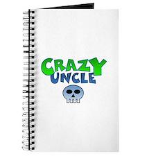 CrazY uncle skull Journal