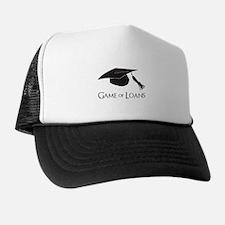 Game of College Graduation Loans Trucker Hat