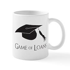 Game of College Graduation Loans Mugs