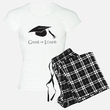 Game of College Graduation Loans Pajamas