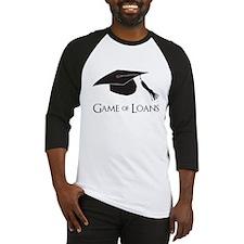 Game of College Graduation Loans Baseball Jersey