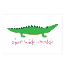 After while Crocodile Postcards (Package of 8)