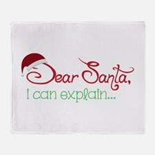 I Can Explain Throw Blanket