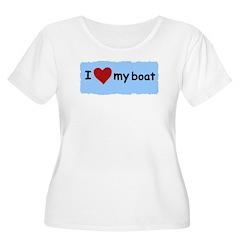 I LOVE MY BOAT T-Shirt
