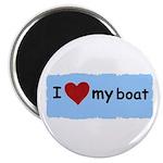 I LOVE MY BOAT Magnet