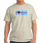 I LOVE MY BOAT Light T-Shirt