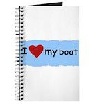 I LOVE MY BOAT Journal