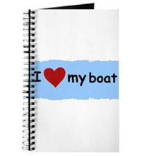 I LOVE MY BOAT Journal