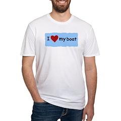 I LOVE MY BOAT Shirt
