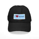 I LOVE MY BOAT Black Cap